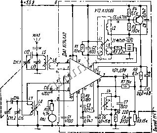 принципиальная схема приемника меридиан рп 248