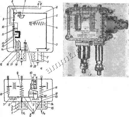 Реле давления РД-4А-01.