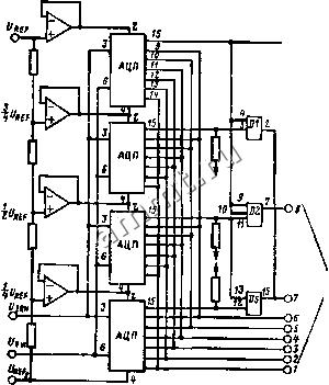 принципиальная схема питающей и распределительной сети